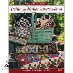 Libro Quilts con diseños...