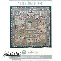 Patrón Where We Love is Home
