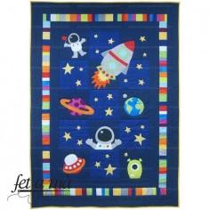 Kit Colcha Infantil Space...