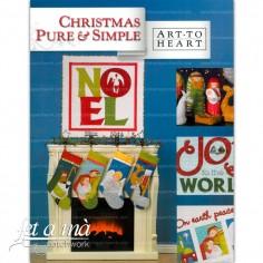 Libro Christmas Pure & Simple