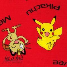 Tela Pokémon - Rojo