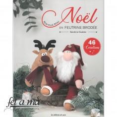 Libro Noël en Feutrine Brodée