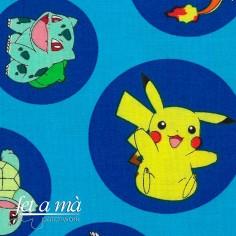 Tela Pokémon - Azul