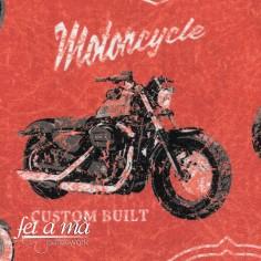 Tela motos vintage caldera