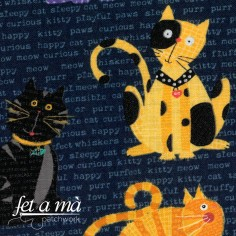 Tela gatos collage