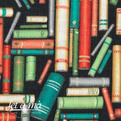 Tela Purrfect Day - Libros