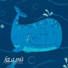 Tela Under the Sea - Ballenas