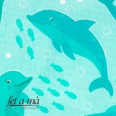 Tela Under the Sea - Delfines