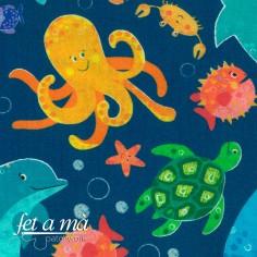 Tela Under the Sea - Bajo...