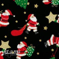 Tela Navidad - Papá Noel y...