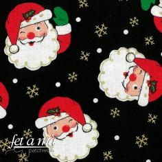 Tela Navidad - Papá Noel