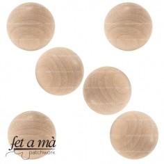 Naricitas de madera de 28 mm