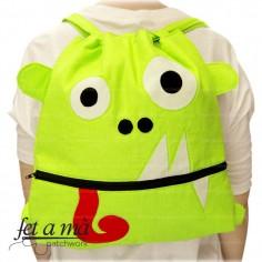 Kit Mochila Froggy