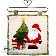Kit Tapiz Papa Noel y árbol