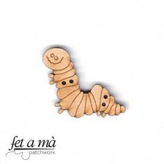 Botón de madera Caterpillar
