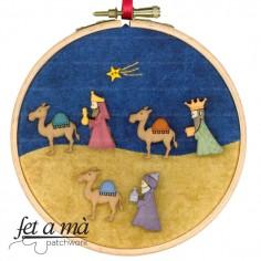 Kit Navidad Reyes Bastidor