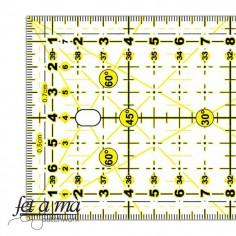 Regla para Patchwork 10x45 cent/ímetros