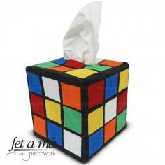 Kit Caja de pañuelos Cubo...