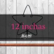 12 inchas (30,55 cm) de ancho