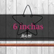6 inchas (15 cm) de ancho