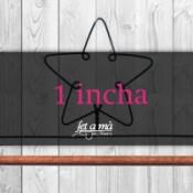 1 incha (2,5 cm) de ancho