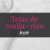 Telas de Toalla - Rizo