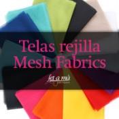 Telas rejilla - Mesh Fabric
