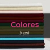 Telas por colores