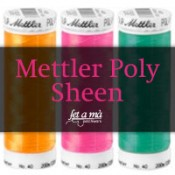 Hilos Mettler Poly Sheen