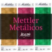 Hilos Mettler Metálicos