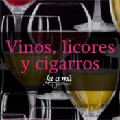 Vinos, licores y cigarros