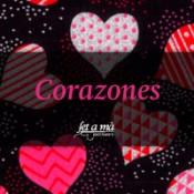 Telas Corazones