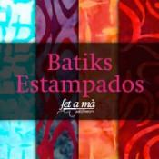 Batiks estampados