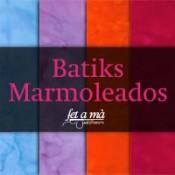 Batiks marmoleados
